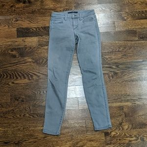 Joe's Jeans Gray Skinny Ankle Size 26